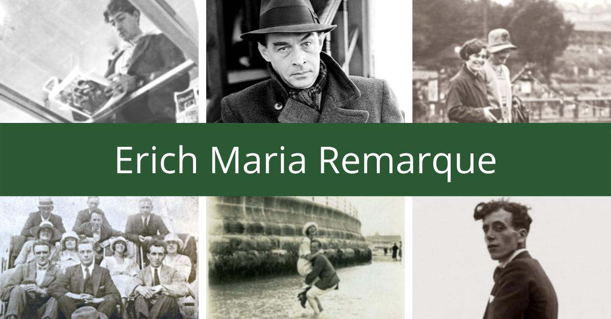 Erich Maria Remarque – pacifistas, kurio nekentė naciai