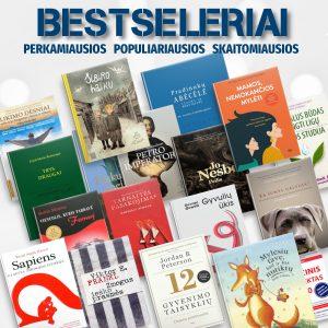 Bestseleriai: perkamiausios knygos