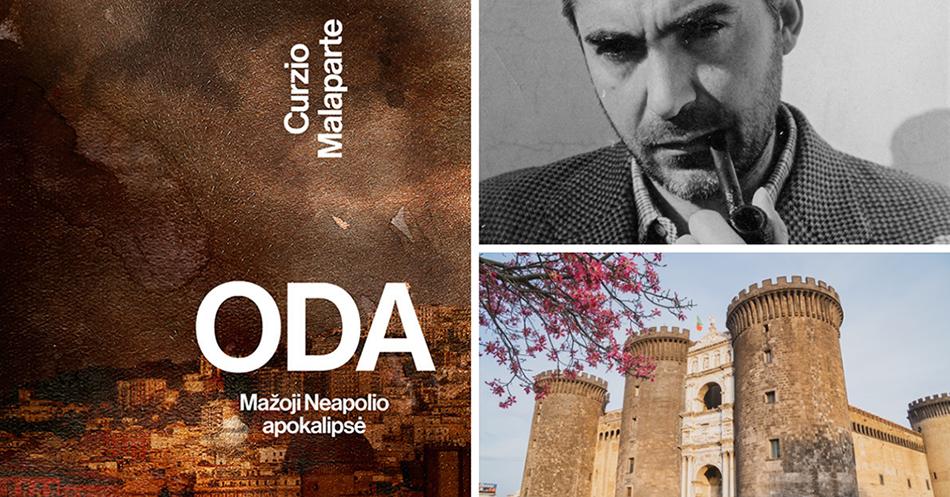 """C. Malaparte """"Oda"""" – vienas kertinių Europos romanų"""