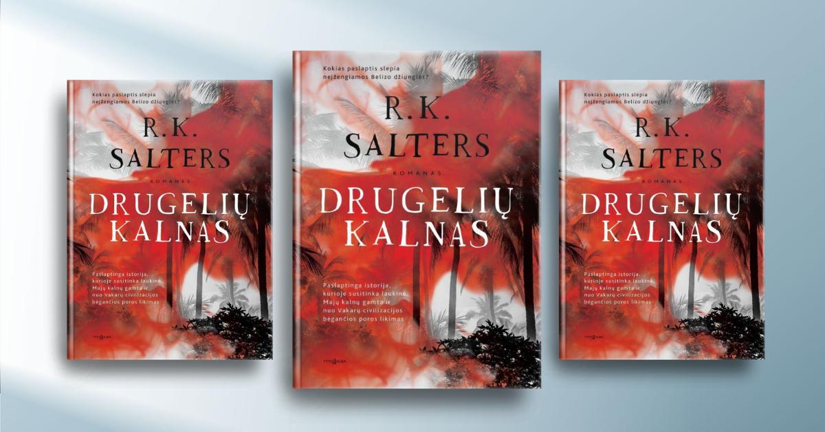 """Lietuvoje gyvenantis ir romaną """"Drugelių kalnas"""" parašęs Remy K. Salters Lietuvą išsirinko pamatęs kelionių vadove"""