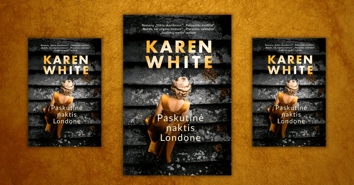 """K. White: """"Visose knygose ieškau vietos, kuri man taptų namais"""""""