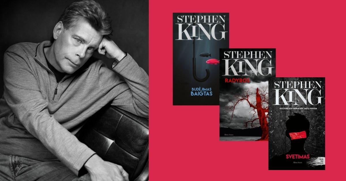 Daug Stephen'o King'o veidų: siaubo rekordininkas, kurio bijo pati mirtis?