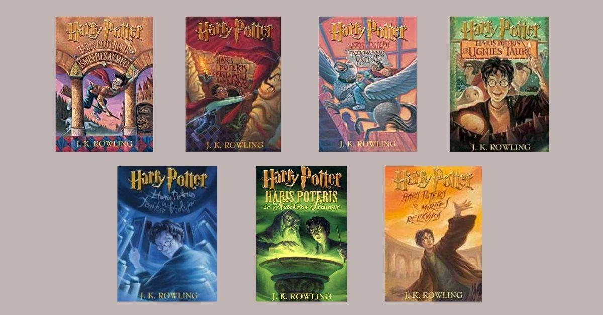 Seno leidimo Hario Poterio knygos