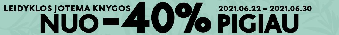 """Leidyklos """"Jotema"""" knygos nuo -40% pigiau!"""