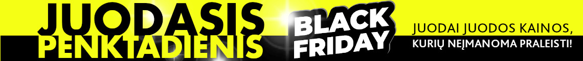 BLACK FRIDAY (penktadienis)