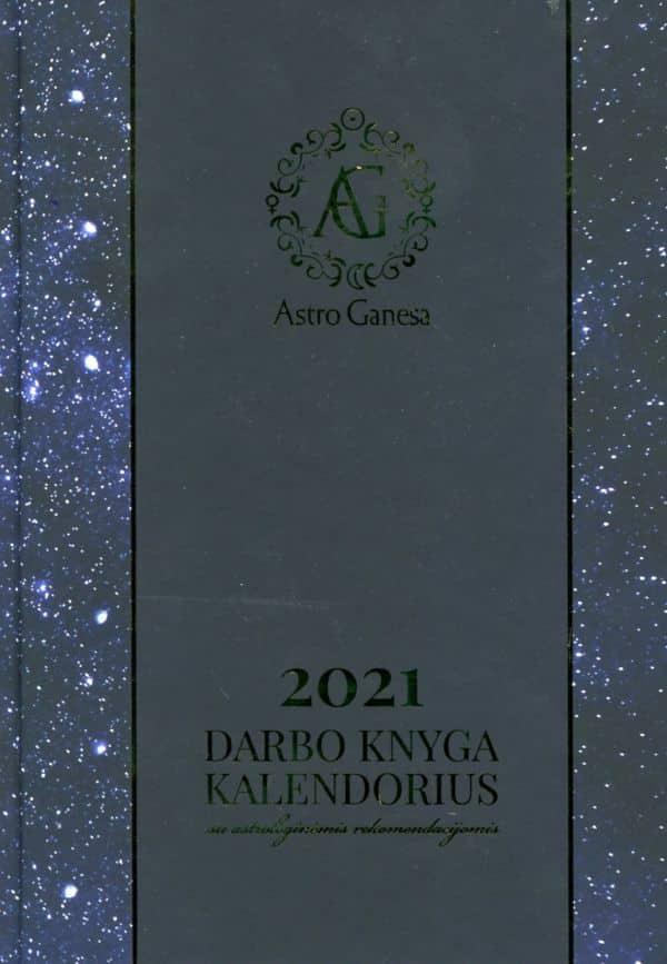 2021 darbo knyga-kalendorius su astrologinėmis rekomendacijomis | Astro Ganesa