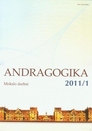 Andragogikos žurnalas 1, 2011 | Mokslo darbai