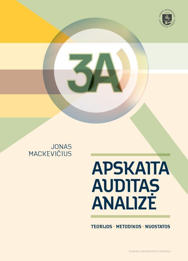3A. Apskaita, auditas, analizė   Jonas Mackevičius