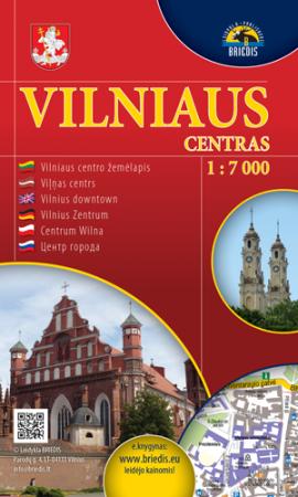 Vilniaus centras 1:7000 |