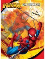 Spider-man galvosūkiai. Su lipdukais |