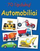 Automobiliai (su 70 lipdukų) |