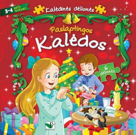 Paslaptingos Kalėdos. Kalėdinės dėlionės  