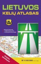 Lietuvos kelių atlasas. Detalūs žemėlapiai 1:100000 |
