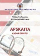 Apskaita vadybininkui | Valdas Kazlauskas, Liucija Liubickienė