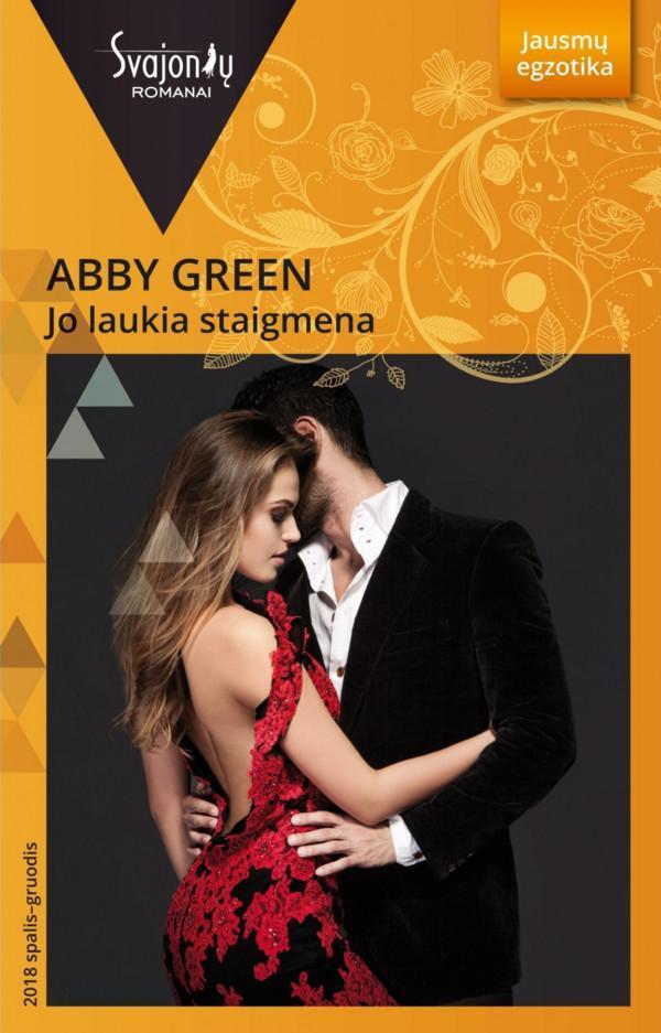 Jo laukia staigmena (Jausmų egzotika) | Abby Green
