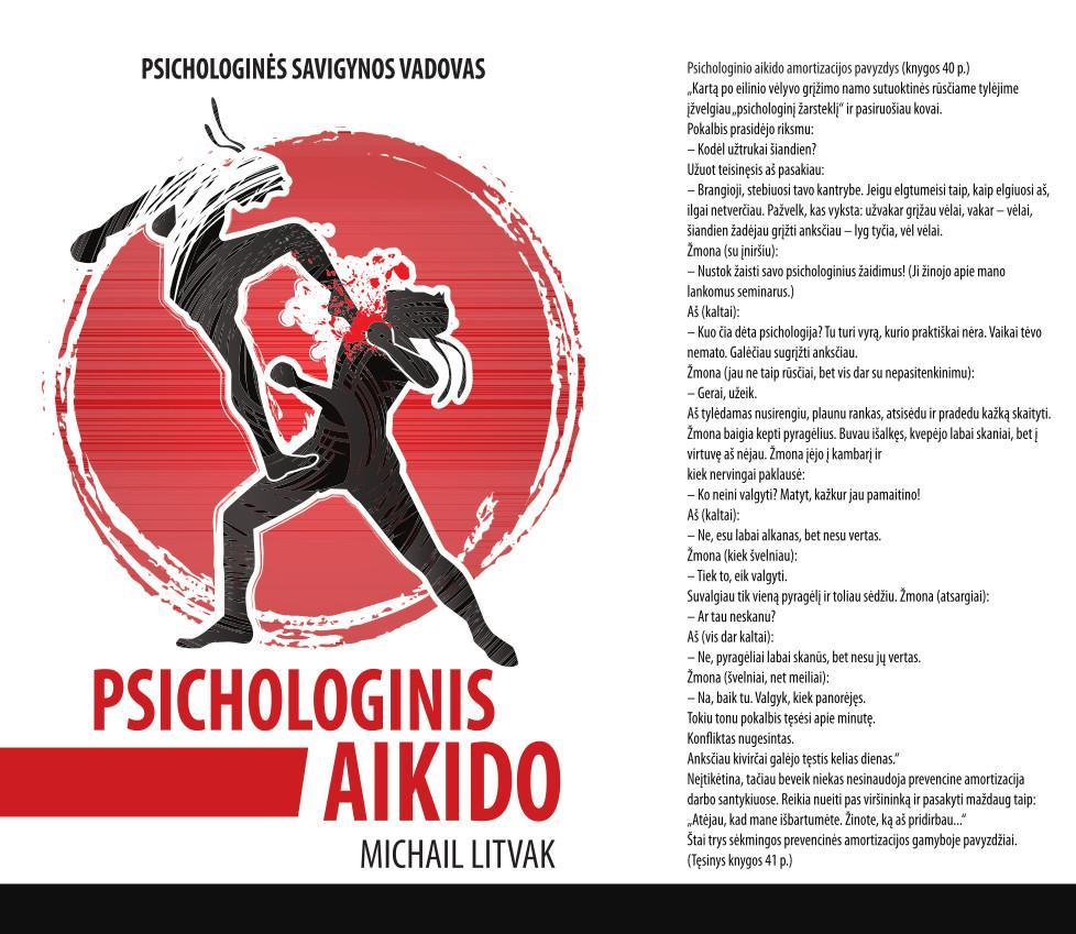 Psichologinis aikido   Michail Litvak