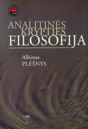 Analitinės krypties filosofija | Albinas Plėšnys