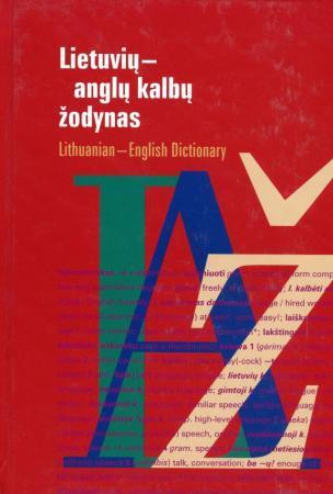 Lietuvių-anglų kalbų žodynas | Bronius Piesarskas, Bronius Svecevičius