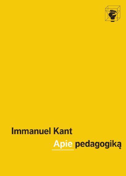 Apie pedagogiką | Immanuel Kant