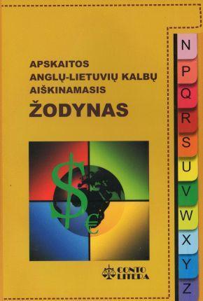 Apskaitos anglų-lietuvių kalbų aiškinamasis žodynas |