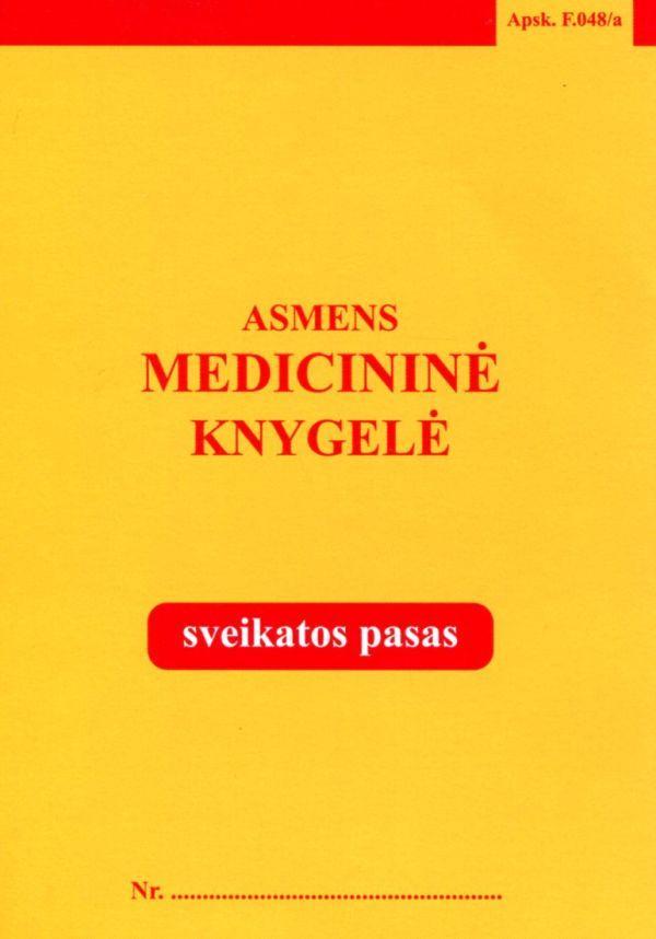 Asmens medicininė knygelė |