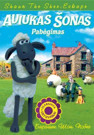 Aviukas Šonas. Pabėgimas (DVD) | Animacinis filmas