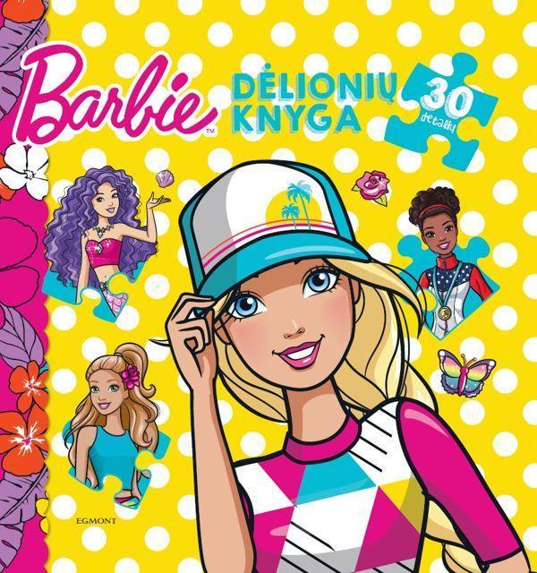 Dėlionių knyga. Barbie (30 detalių) |