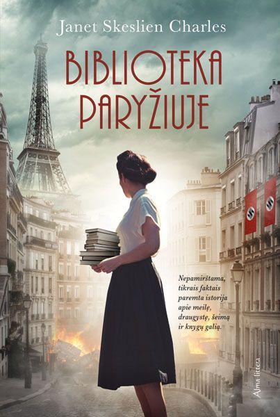 Biblioteka Paryžiuje | Janet Skeslien Charles