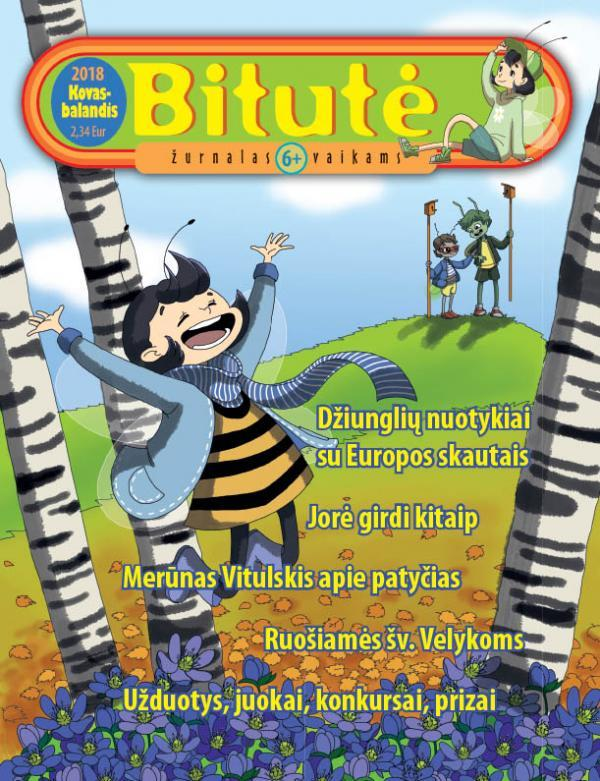 Bitutės žurnalas, 2018, kovas-balandis  