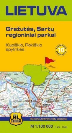 Lietuva. Gražutės, Sartų regioniniai parkai |