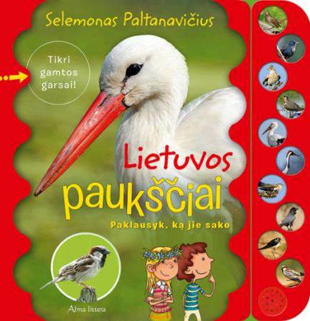 Lietuvos paukščiai (kartoninė knyga) | Selemonas Paltanavičius