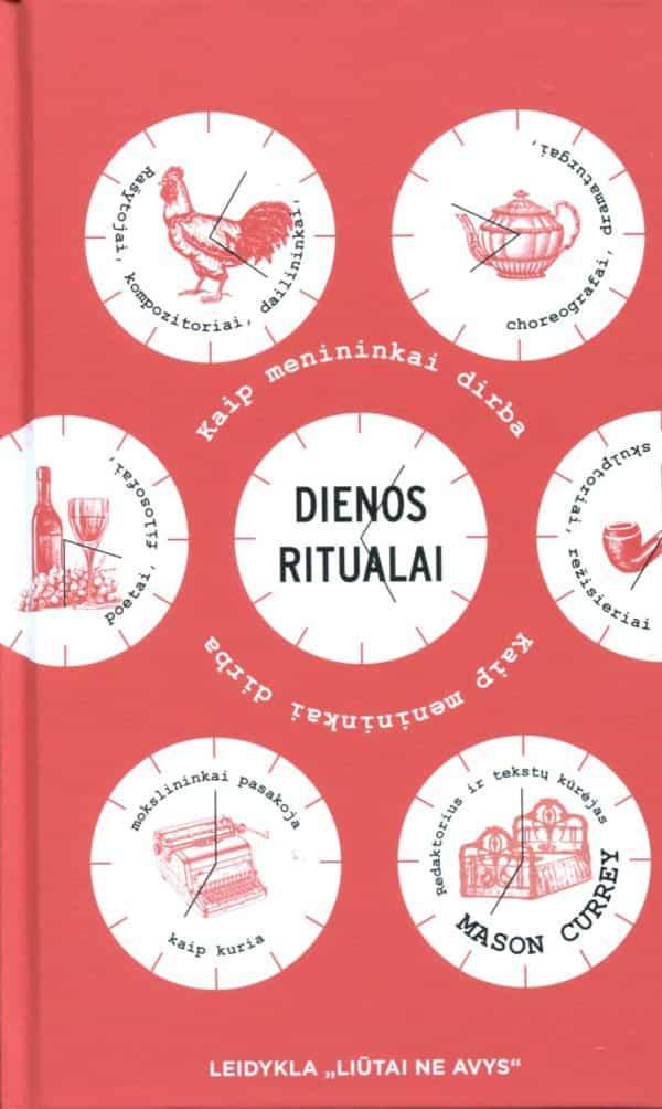 Dienos ritualai (kieti viršeliai) | Mason Currey