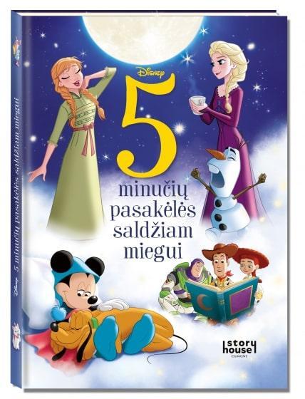 Disney. 5 minučių pasakėlės saldžiam miegui  