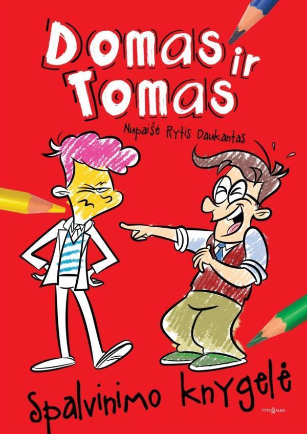 Domas ir Tomas. Spalvinimo knygelė | Rytis Daukantas