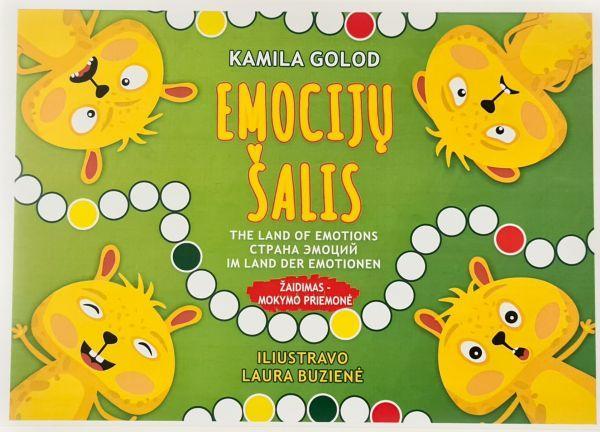 Emocijų šalis. Žaidimas-mokymo priemonė | Kamila Golod