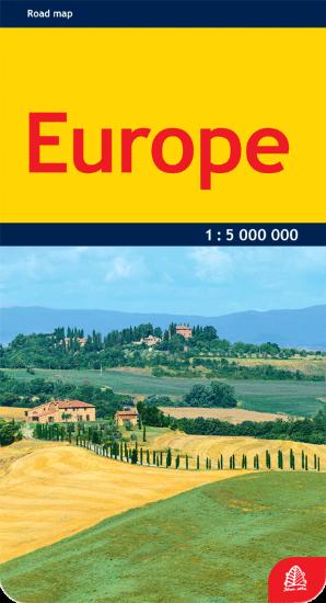 Europa. Kelių žemėlapis |