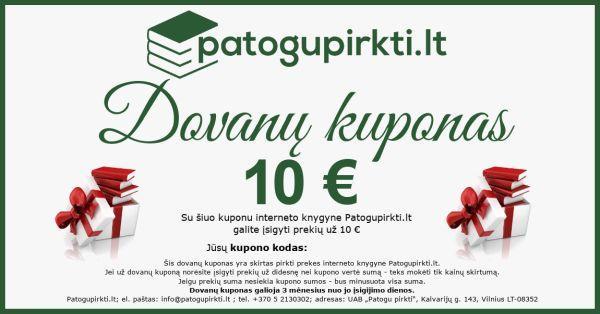 10 eurų dovanų kuponas |