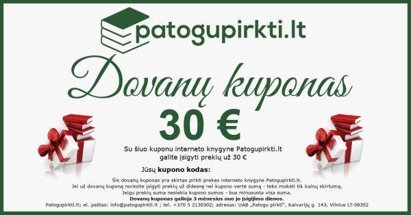 30 eurų dovanų kuponas  