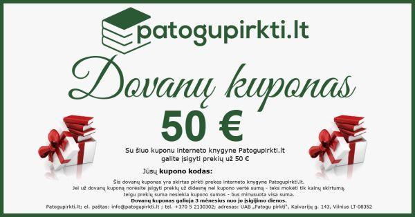50 eurų dovanų kuponas |