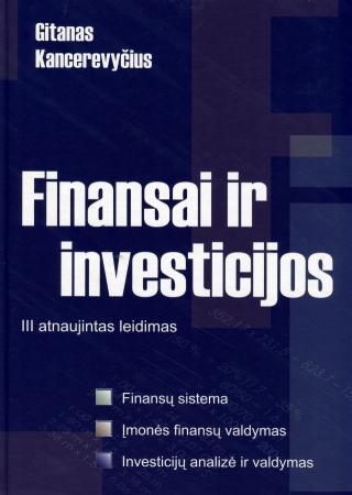 Finansai ir investicijos | Gitanas Kancerevyčius