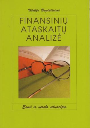 Finansinių ataskaitų analizė (3-as leidimas) | Vitalija Bagdžiūnienė