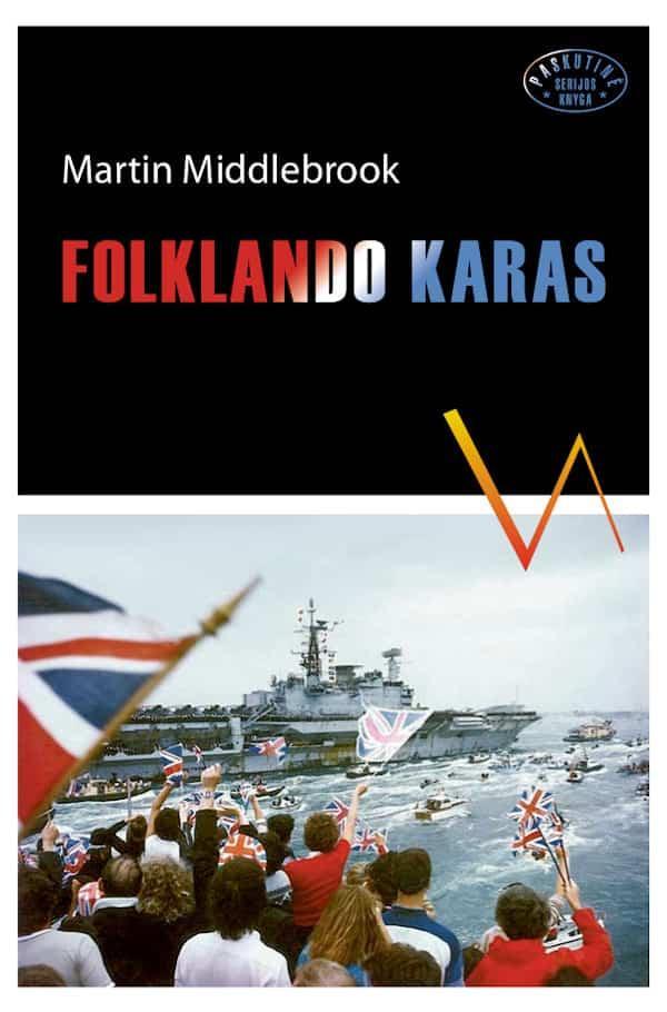 Folklando karas   Martin Middlebrook