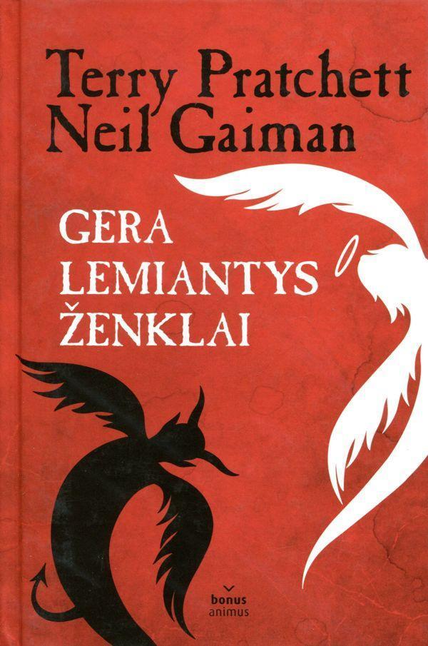 Gera lemiantys ženklai   Terry Pratchett, Neil Gaiman