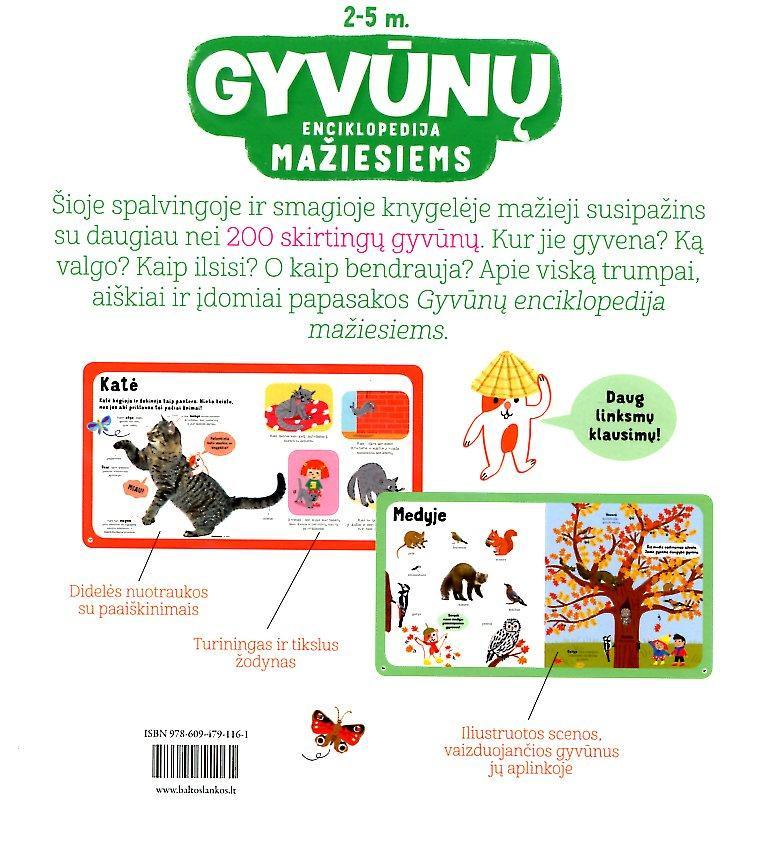 Gyvūnų enciklopedija mažiesiems   Cecile Jugla