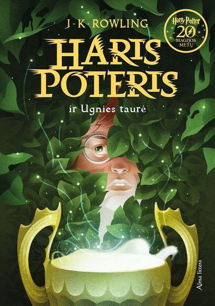 Haris Poteris ir Ugnies taurė. 4 dalis | J. K. Rowling
