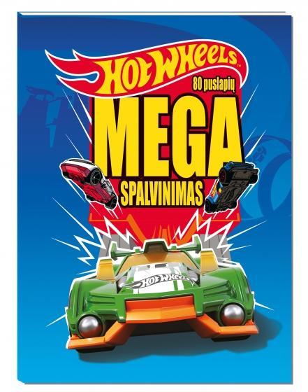 Hot Wheels. Mega spalvinimas |