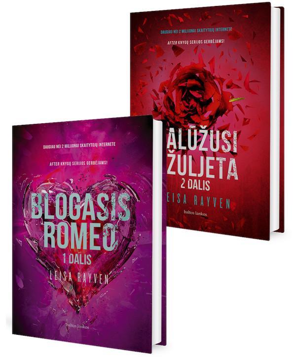 KOMPLEKTAS. Romeo ir Džuljeta: Blogasis ROMEO + Palūžusi DŽULJETA | Leisa Rayven