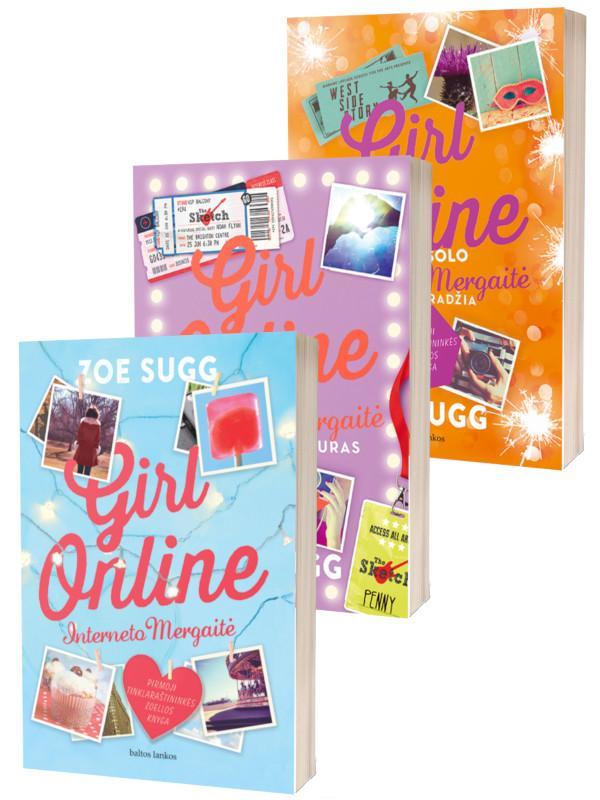 KOMPLEKTAS. Interneto mergaitė. GIRL ONLINE: Interneto mergaitė + Koncertinis turas + Nauja pradžia   Zoe Sugg