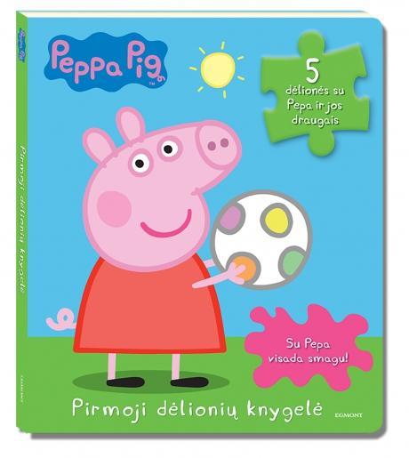 Peppa Pig. Pirmoji dėlionių knygelė |