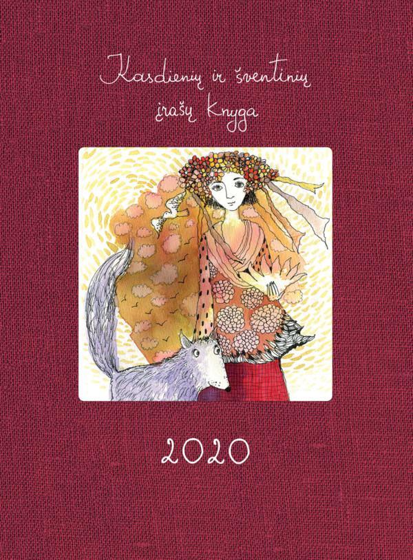 Kasdienių ir šventinių įrašų knyga 2020 | Sigutė Ach